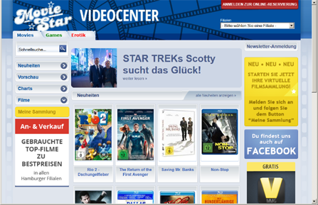 video center moviestar